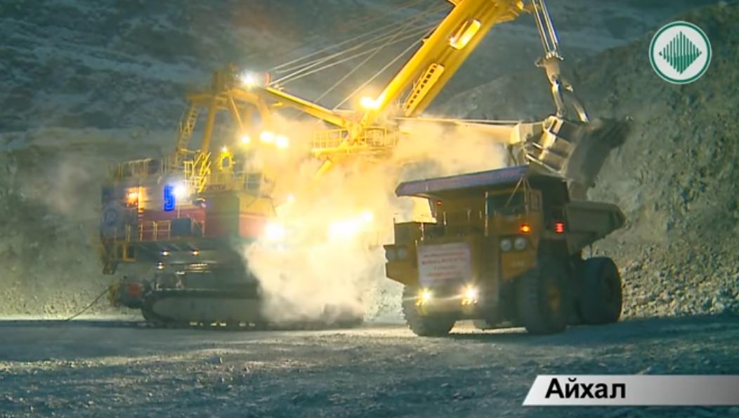 Обработка 200-миллионной тонны руды трубки