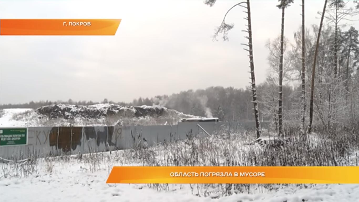 Владимирская область погрязла в мусоре.