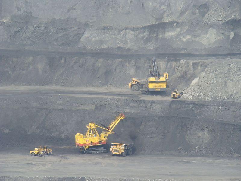 карьер добыча угля