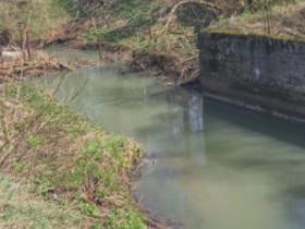 загрязнение речки