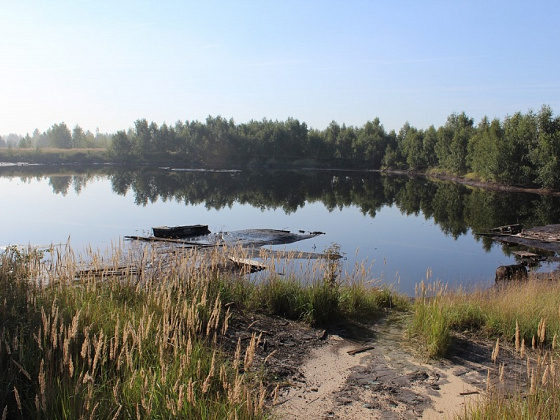 грязное озеро
