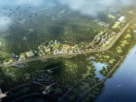 город лес