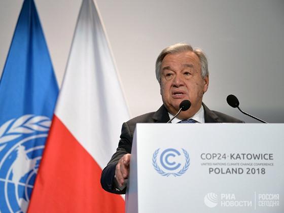 ООН призывает к увеличению мер для предотвращения экологической катастрофы