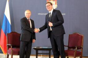 Визит Путина в Сербию принёс горному университету два договора