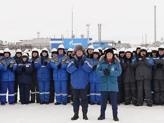 Началось освоение Харасавэйского месторождения на Ямале