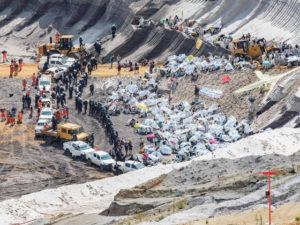 В Германии радикалы напали на крупнейший угольный рудник