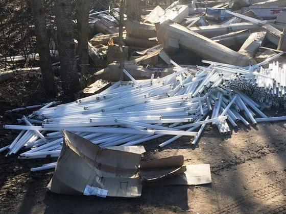Выявлена свалка ртутных ламп в Нижегородской области
