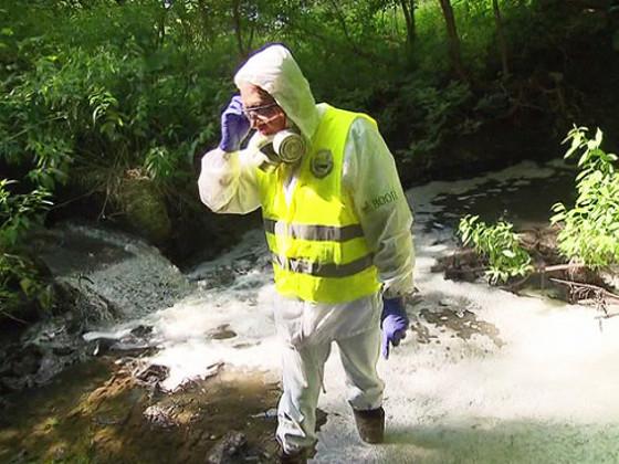 Река превратилась всточную канаву: вПодольске назревает экологическая катастрофа