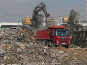 Власти Подмосковья планируют взять под контроль рынок строительного мусора в регионе
