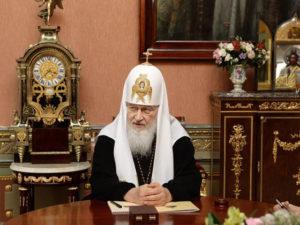 Патриарх заявил, что природные ресурсы не должны уничтожаться в погоне за прибылью