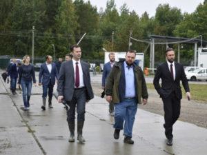 Представители Росатома посетили полигон «Красный Бор»