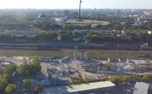 Незаконный бетонный завод обнаружили в Подмосковье