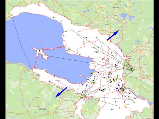 Потоки отходов Санкт-Петербурга