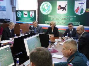 Виктория Абрамченко совершила рабочую поездку в Иркутскую область