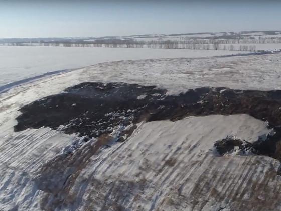 Под Канском вновь разгорается свалка химических отходов