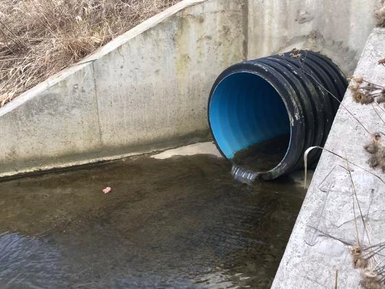 За сброс точных вод в реку Дудергофка привлечено ЗАО «АБЗ-Дорстрой»