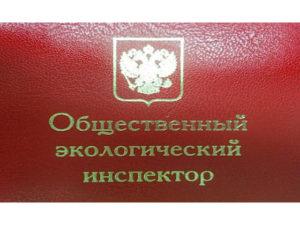 Росприроднадзор подвел итоги работы общественных инспекторов в I квартале 2020 года