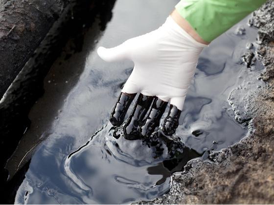 Управлением в Волгоградской области принимаются меры по факту утечки нефтепродуктов