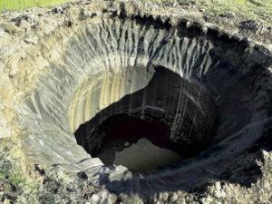 Ученые смоделировали появление загадочных кратеров в ЯНАО