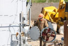 Очистные сооружения на урановом руднике №6 запустят в сентябре