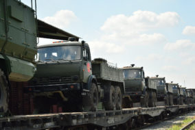 Минобороны России направило военных специалистов для выполнения работ по ликвидации угрозы загрязнения окружающей среды в Усолье-Сибирском