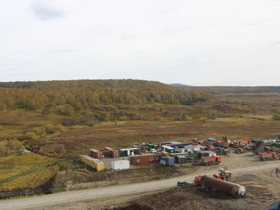 На Камчатке ведется опытно-промышленная разработка запасов Озерновского золоторудного месторождения