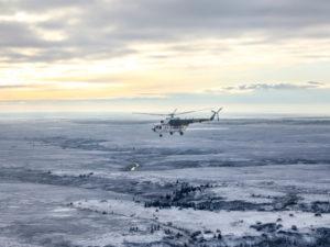 В районе Харьягинского месторождения произошла утечка нефтесодержащей жидкости