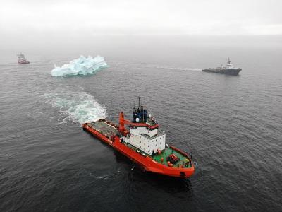 ООО «Газпром недра» запатентовало способ безопасной транспортировки крупных айсбергов