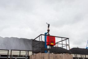 Торговый порт Посьет запустил вторую очередь системы орошения угольных складов