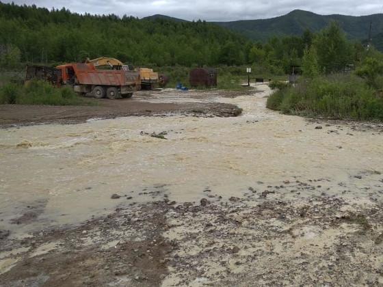 На Дальнегорском ГОКе произошла утечка технической воды