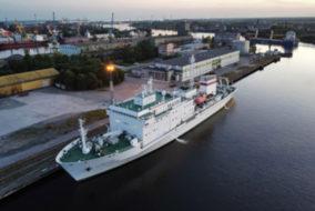 Сотрудники ВСЕГЕИ приняли участие в научной экспедиции в Балтийском море